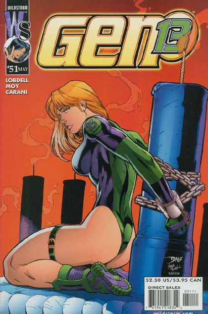 Gen 13 Bondage on the Cover