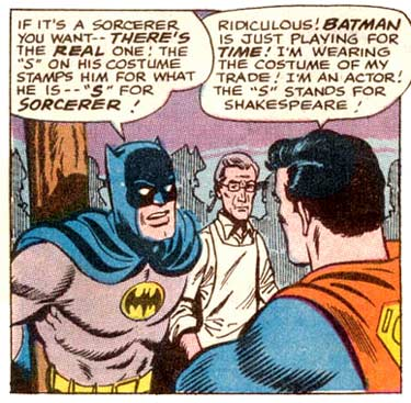 The Bat Man's Logic is sound...