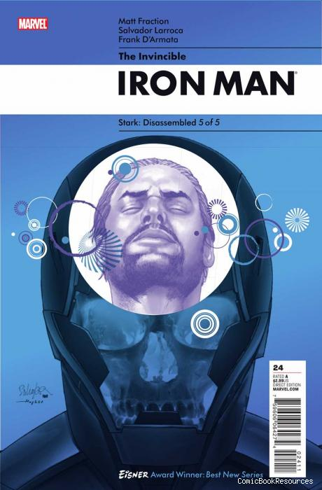 Invincible Iron Man # 24