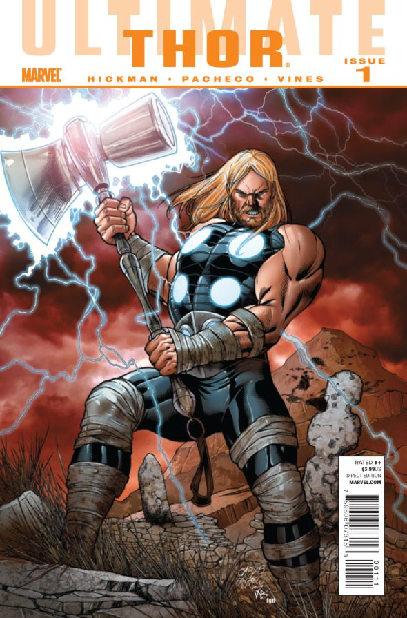 ULTIMATE COMICS THOR # 1